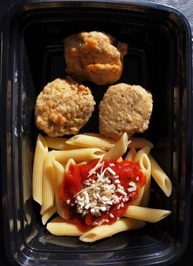 Push Press Pasta and Meatballs