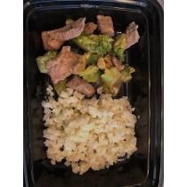 Szechuan Beef and Broccoli